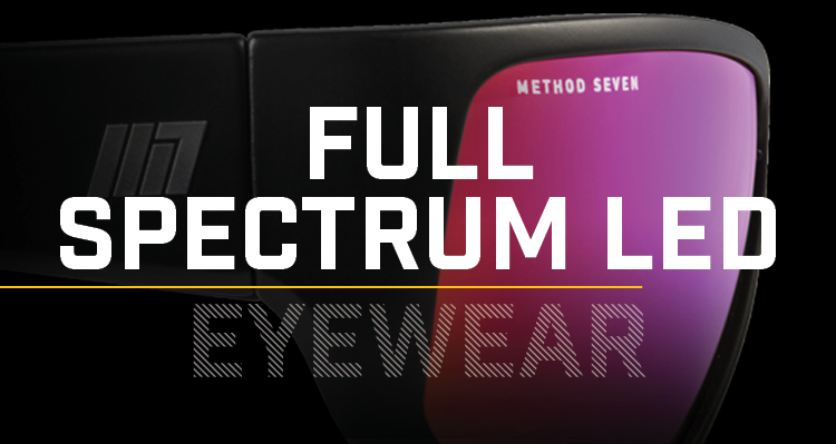 Method Seven Mobile Full Spectrum LED Eyewear